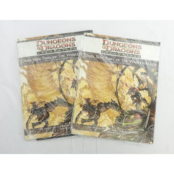 Dungeons & Dragons Dark Sun: Fury of the Wastewalker [Chapters 2 & 3] (WOTC, 2010) - SEALED