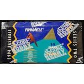 1994 Pinnacle Series 2 Baseball Hobby Box (Reed Buy)