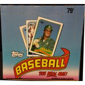 1989 Topps Baseball Cello Box (Reed Buy)