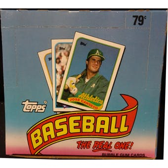 1989 Topps Baseball Cello Box (Reed Buy)