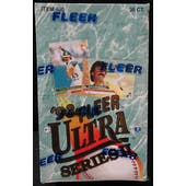 1993 Fleer Ultra Series 2 Baseball Hobby Box (Reed Buy)