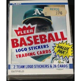 1984 Fleer Baseball Cello Pack (Reed Buy)