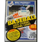 1985 Fleer Baseball Cello Pack (Reed Buy)