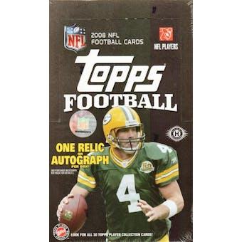 2008 Topps Football Hobby Box
