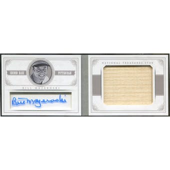 2014 Panini National Treasures NT Star Jumbo Materials Signatures Bat #16 Bill Mazeroski #/25 (Reed Buy)