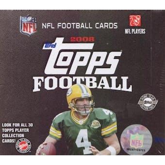 2008 Topps Football Jumbo Box