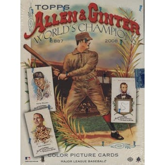 2008 Topps Allen & Ginter Baseball Hobby Box