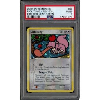 Pokemon EX FireRed LeafGreen FRLG Lickitung 37/112 PSA 9