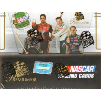 2008 Press Pass Premium Racing Hobby Box