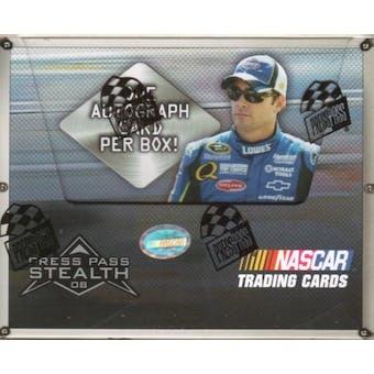 2008 Press Pass Stealth Racing Hobby Box