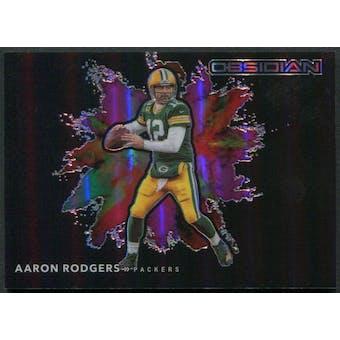 2020 Panini Obsidian #3 Aaron Rodgers Color Blast SSP