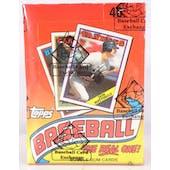 1988 Topps Baseball Wax Box (BBCE) (FASC) (Reed Buy)