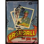 1989 Topps Baseball Wax Box (BBCE) (FASC) (Reed Buy)