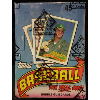1989 Topps Baseball Wax Box (BBCE) (FASC) (Reed Buy)