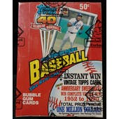 1991 Topps Baseball Wax Box (BBCE) (FASC) (Reed Buy)