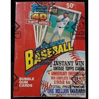 1991 Topps Baseball Wax Box (BBCE) (FASC) (Reed Buy)