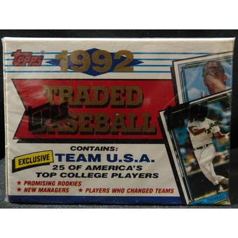1992 Topps Traded & Rookies Baseball Factory Set (Reed Buy)
