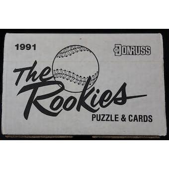 1991 Donruss The Rookies Baseball Factory Set Case (15 sets) (Reed Buy)
