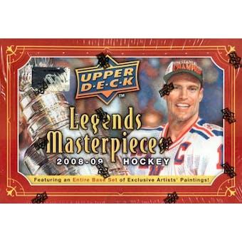 2008/09 Upper Deck Legends Masterpieces Hockey Hobby Box