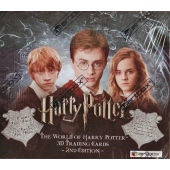 Harry Potter 3-D 2nd Series Hobby Box (2008 Artbox)