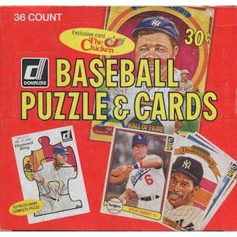 1982 Donruss Baseball Wax Box