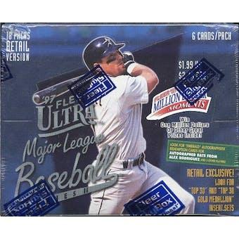 1997 Fleer Ultra Series 2 Baseball Retail Box