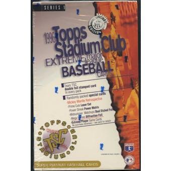 1996 Topps Stadium Club Series 1 Baseball Hobby Box