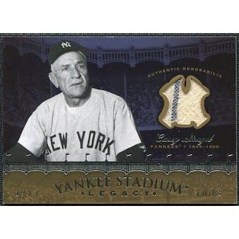 2008 Upper Deck Yankee Stadium Legacy Collection Memorabilia #CS Casey Stengel