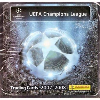 2007/08 Panini UEFA Champions League Soccer Hobby Box