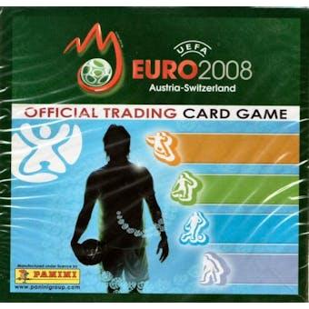 2008 Panini UEFA Euro Cup Soccer Hobby Box