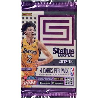 2017/18 Panini Status Basketball Blaster Pack (Lot of 6) = 1 Blaster Box
