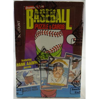 1986 Donruss Baseball Wax Box (BBCE) (FASC) (Reed Buy)