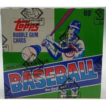 1987 Topps Baseball Cello Box (BBCE) (FASC) (Reed Buy)