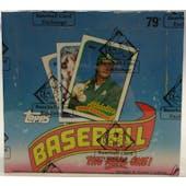 1989 Topps Baseball Cello Box (BBCE) (FASC) (Reed Buy)