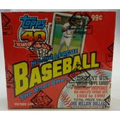 1991 Topps Baseball Cello Box (BBCE) (FASC) (Reed Buy)