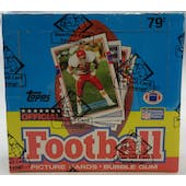 1989 Topps Football Cello Box (BBCE) (Reed Buy)