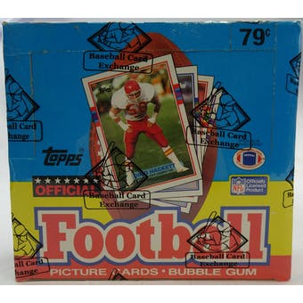 1989 Topps Football Cello Box (BBCE) (Reed Buy)
