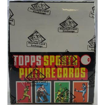 1986 Topps Baseball Rack Box (BBCE) (FASC) (Reed Buy)