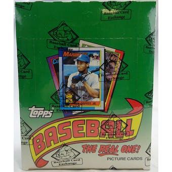 1990 Topps Baseball Rack Box (BBCE) (FASC) (Reed Buy)
