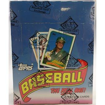 1989 Topps Baseball Rack Box (BBCE) (FASC) (Reed Buy)