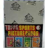 1984 Topps Baseball Rack Box (BBCE) (FASC) (Reed Buy)