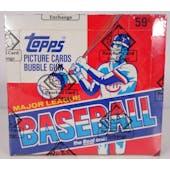 1985 Topps Baseball Cello Box (BBCE) (Reed Buy)