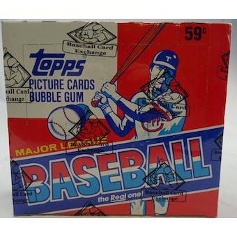 1986 Topps Baseball Cello Box (BBCE) (Reed Buy)