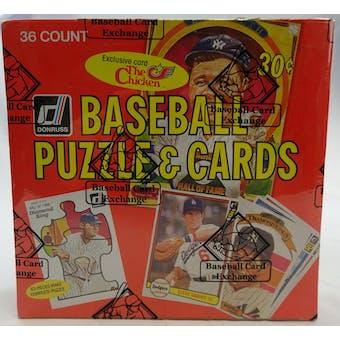 1982 Donruss Baseball Wax Box (BBCE) (Reed Buy)