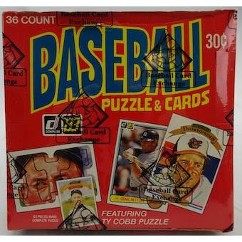 1983 Donruss Baseball Wax Box (BBCE) (Reed Buy)