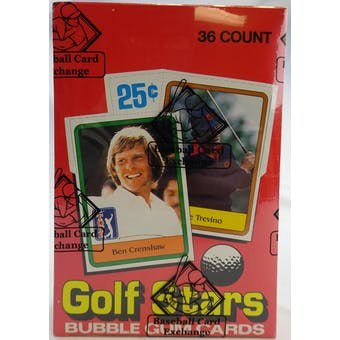 1981 Donruss Golf Wax Box (BBCE) (Reed Buy)