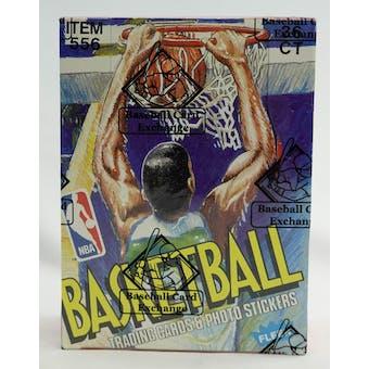 1989/90 Fleer Basketball Wax Box (BBCE)