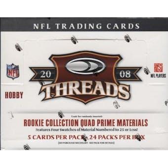 2008 Donruss Threads Football Hobby Box