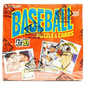 1983 Donruss Baseball Wax Box (BBCE) (FASC)