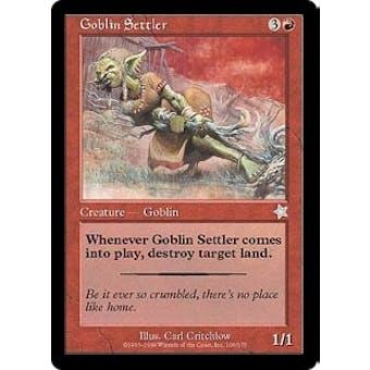 Magic the Gathering Starter Single Goblin Settler - NEAR MINT (NM)